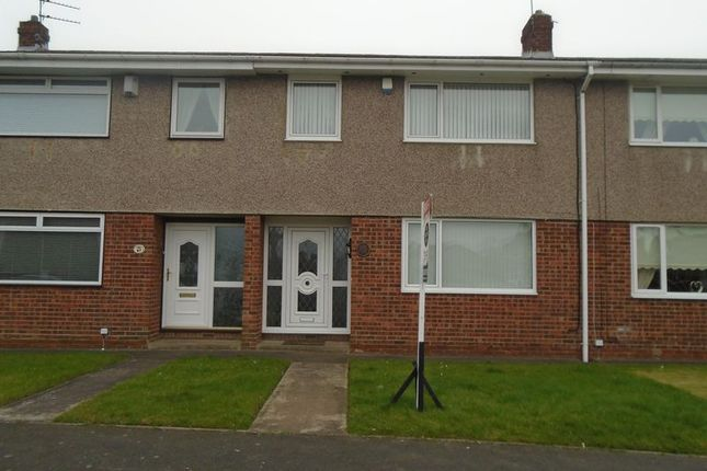 Thumbnail Terraced house to rent in Ogle Drive, Blyth