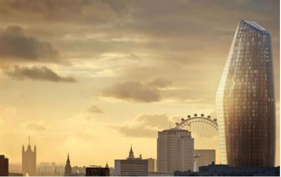 Thumbnail Flat to rent in 60 One Blackfriars, London