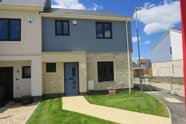 Thumbnail End terrace house for sale in Holzwickede Court, Weymouth