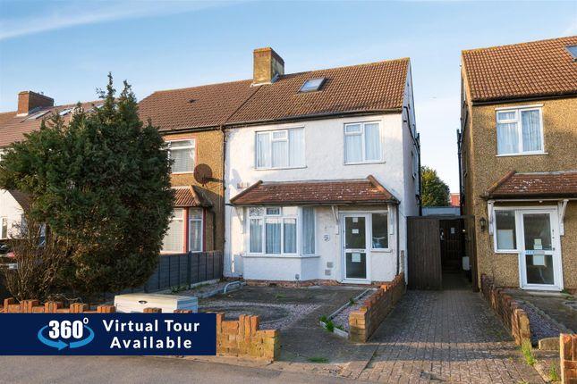 Thumbnail Semi-detached house for sale in Bath Road, Harmondsworth, West Drayton