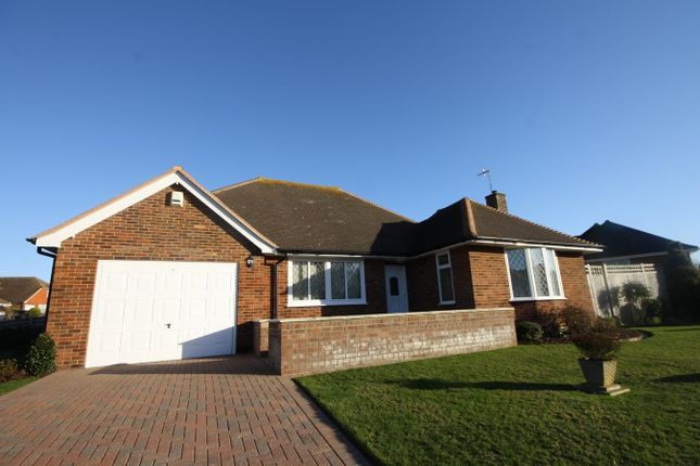 Thumbnail Detached bungalow for sale in Firle Road, Bexhill-On-Sea