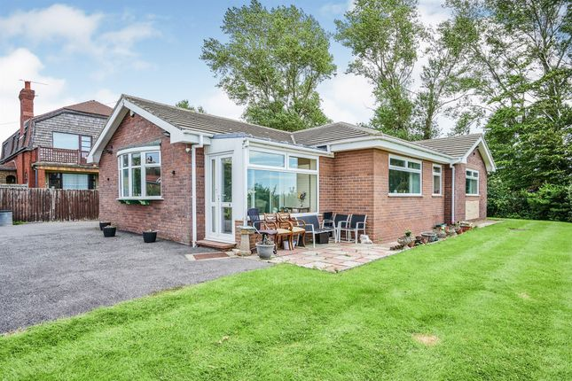 Thumbnail Detached bungalow for sale in Seabank Road, Heswall, Wirral