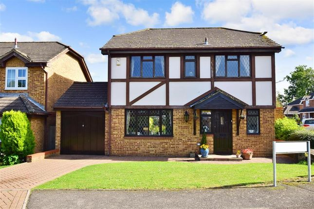 Thumbnail Detached house for sale in Rocks Close, East Malling, West Malling, Kent