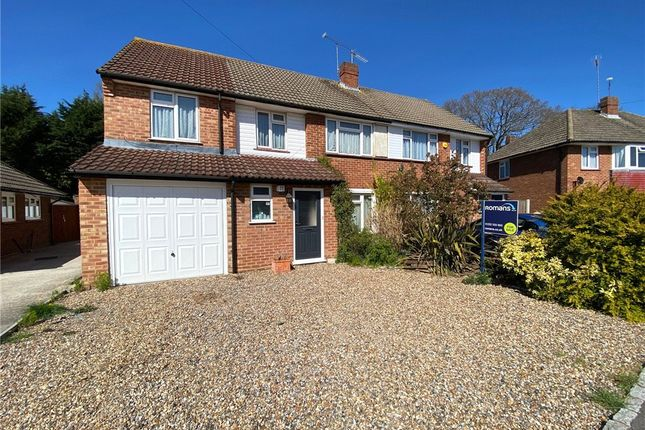5 bed semi-detached house for sale in Belmont Close, Farnborough, Hampshire GU14
