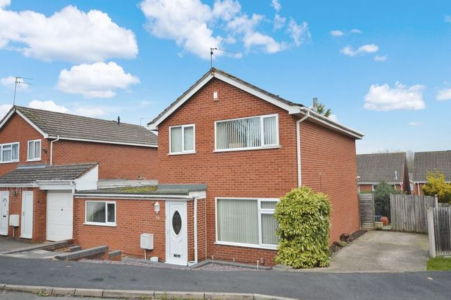 Thumbnail Detached house for sale in Linley Drive, Stirchley, Telford, Shropshire