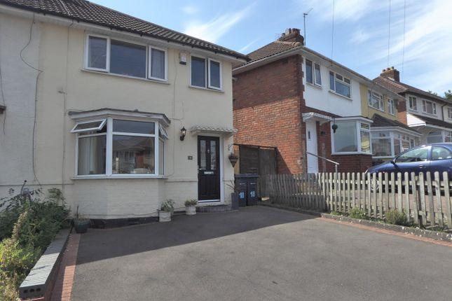 Thumbnail Semi-detached house for sale in Sant Road, West Heath, Birmingham