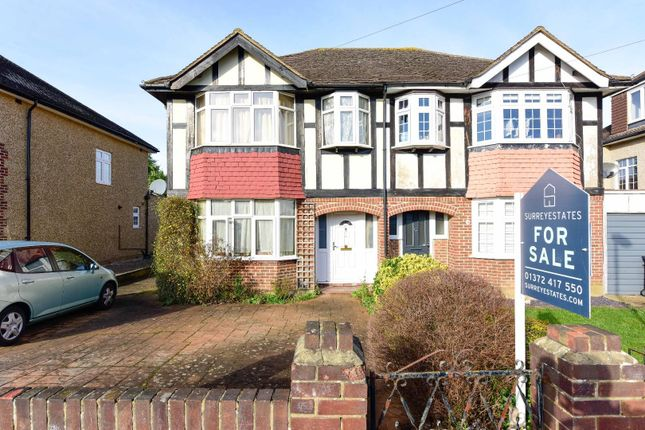 3 bed semi-detached house for sale in Cheshire Gardens, Chessington