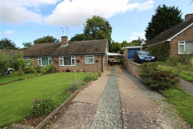 Thumbnail Bungalow to rent in Hillcrest Rd, Monmouth, Monmouthshire