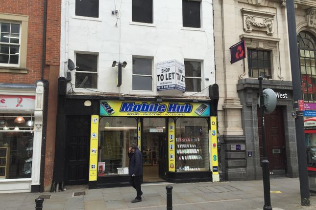 Thumbnail Retail premises to let in High Street, Doncaster