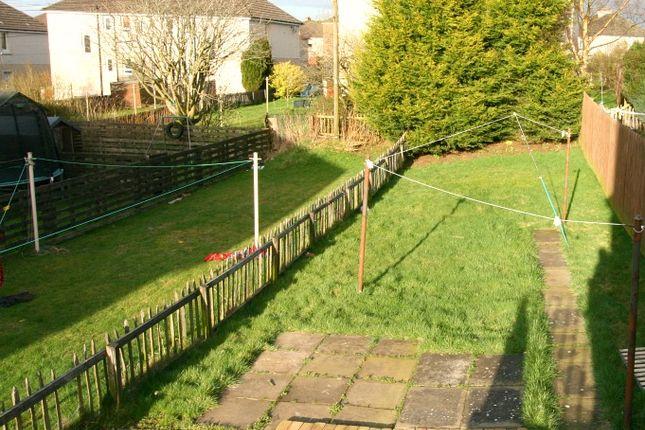 Garden of Hawthorn Place, Shotts ML7