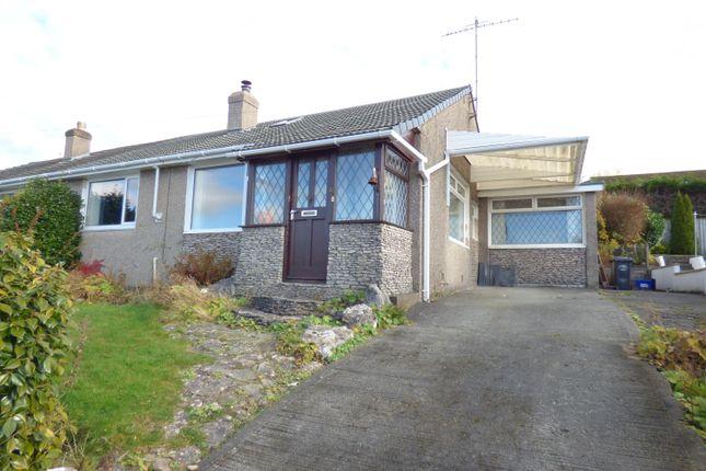 Thumbnail Semi-detached bungalow for sale in Wordsworth Drive, Kendal, Cumbria