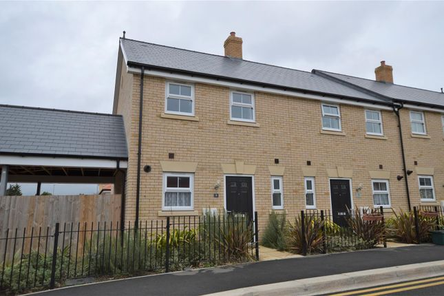 Thumbnail End terrace house for sale in Lancaster Approach, Colchester