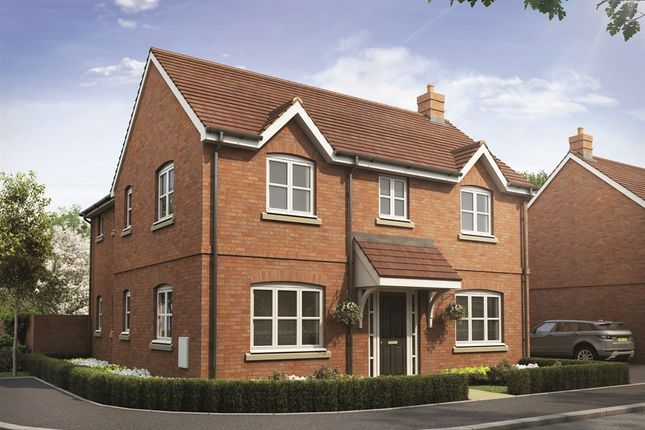 "Thumbnail Detached house for sale in ""The Foxford "" at Snowberry Lane, Wellesbourne, Warwick"