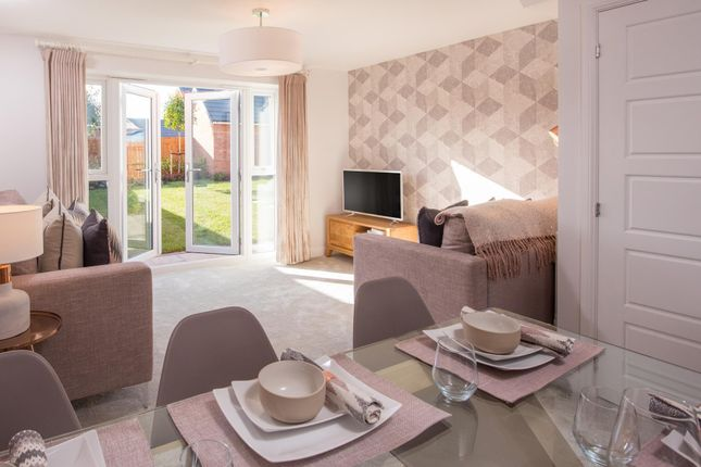 "Thumbnail Terraced house for sale in ""Norbury"" at Manor Drive, Upton, Wirral"