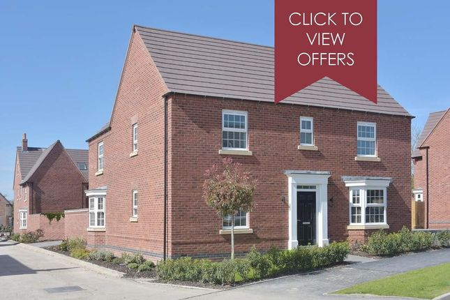 "Thumbnail Detached house for sale in ""Layton"" at Woodcock Square, Mickleover, Derby"