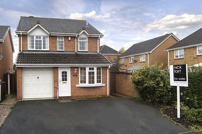 Thumbnail Detached house for sale in Kingsley Drive, Donnington, Telford, Shropshire.