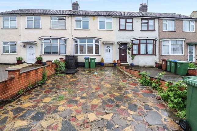 Thumbnail Terraced house for sale in Kingswood Avenue, Belvedere, Kent