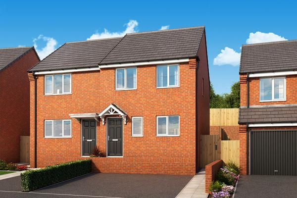 "Thumbnail Property for sale in ""The Hawthorn At Woodland Mews"" at Manor Way, Peterlee"