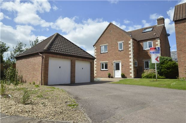 Thumbnail Detached house for sale in Wood Stanway Drive, Bishops Cleeve