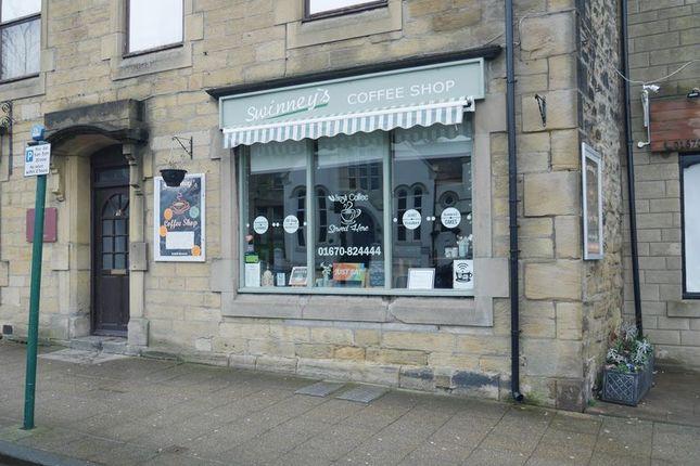 Restaurant/cafe for sale in Swinney's Coffee Shop, 60B Front Street West, Bedlington