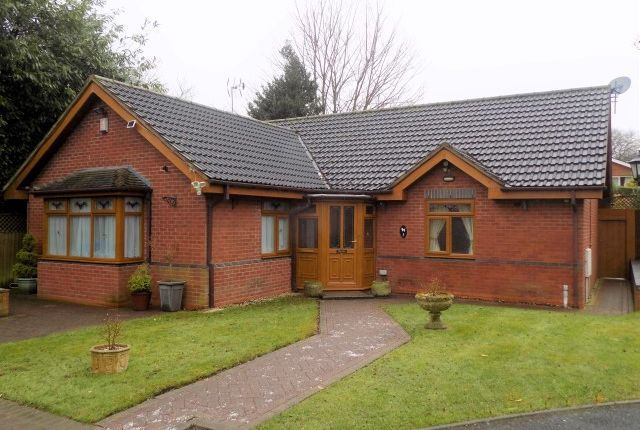 Thumbnail Detached bungalow for sale in Courtenay Gardens, Off Pages Lane, Great Barr