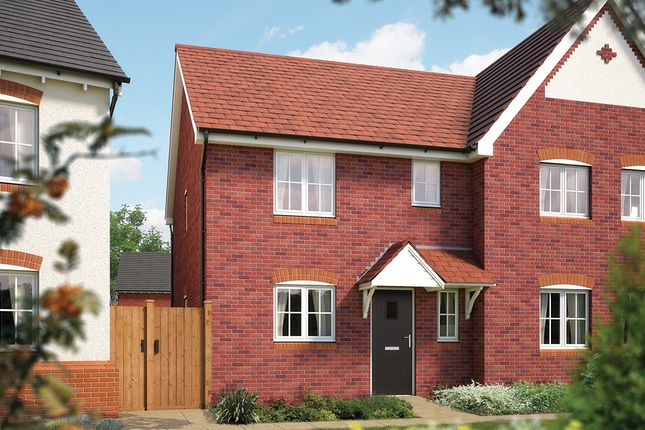 "Thumbnail Semi-detached house for sale in ""The Southwold"" at Weights Lane Business Park, Weights Lane, Redditch"
