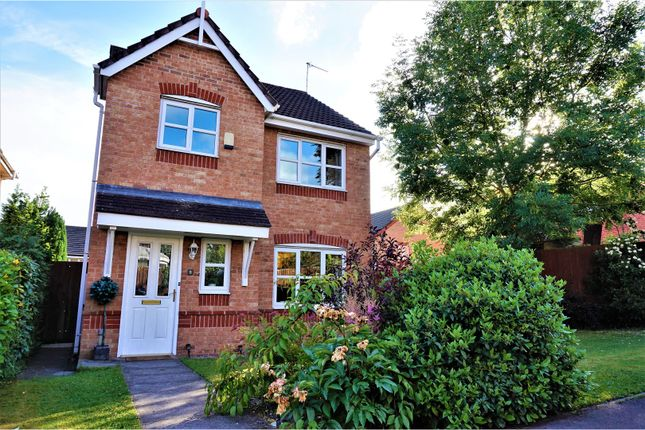 Thumbnail Detached house for sale in Elmstone Close, Manchester