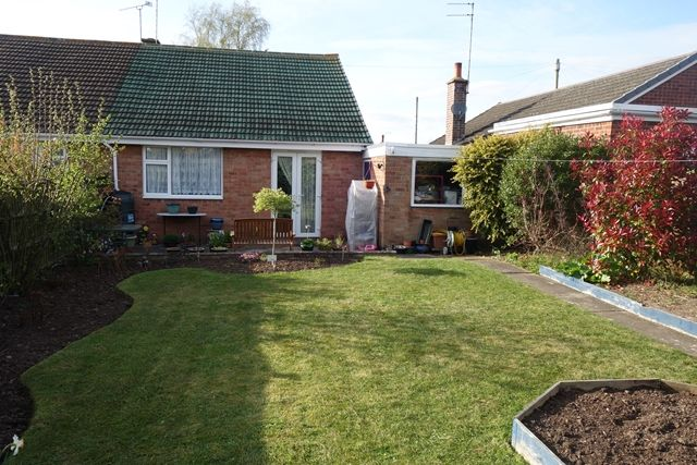 Thumbnail Bungalow for sale in Sheridan Close, Enderby, Leicester
