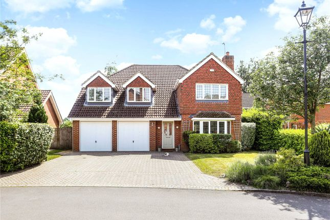 Thumbnail Detached house for sale in Danesfield, Ripley, Woking, Surrey