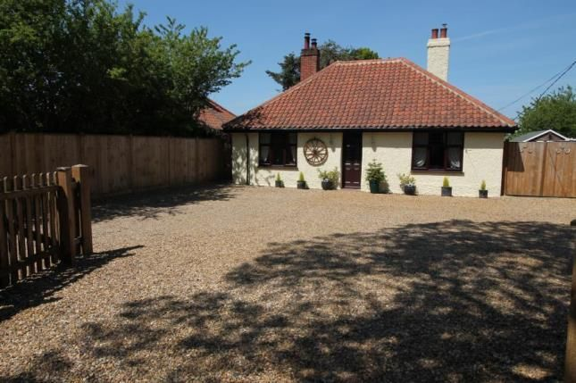 Thumbnail Bungalow for sale in Great Plumstead, Norwich, Norfolk