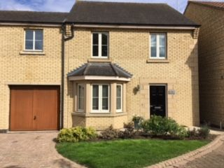 Thumbnail Town house to rent in Normangate, Ailsworth, Peterborough
