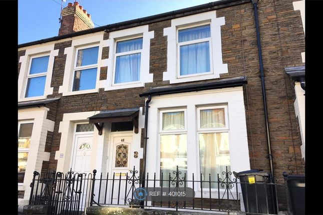 Thumbnail Terraced house to rent in Upper Kincraig Street, Roath