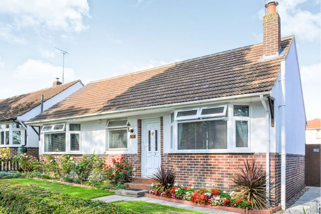 Thumbnail Detached bungalow for sale in Bassett Green Road, Southampton