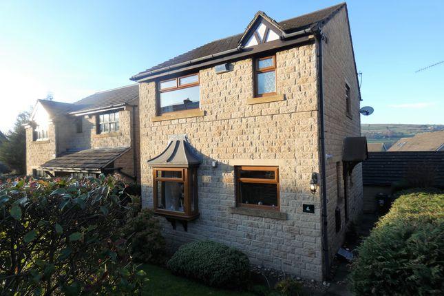 Thumbnail 3 bed detached house for sale in Waingate, Linthwaite, Huddersfield