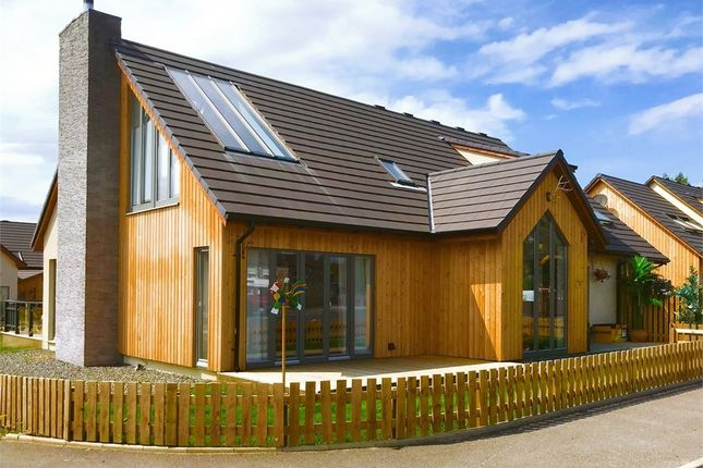 Thumbnail Detached house for sale in Strathkalnas Park, Sauchen, Inverurie, Aberdeenshire