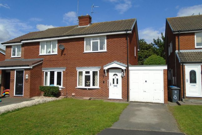Thumbnail Semi-detached house for sale in Heron Close, Coven, Wolverhampton