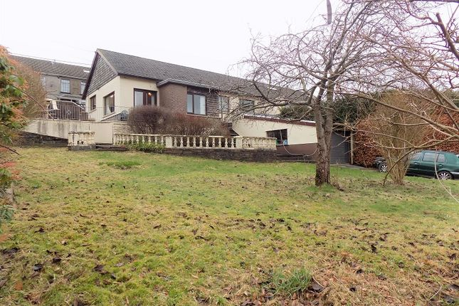 Thumbnail Semi-detached bungalow for sale in Vicarage Terrace, Cwmparc, Treorchy, Rhondda Cynon Taff.