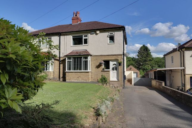 3 bed semi-detached house for sale in Station Road, Honley, Holmfirth HD9