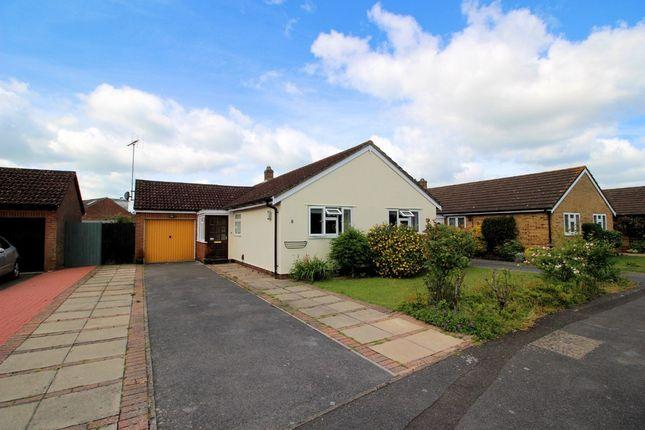 Thumbnail Detached bungalow for sale in Dene Close, Sarisbury Green, Southampton