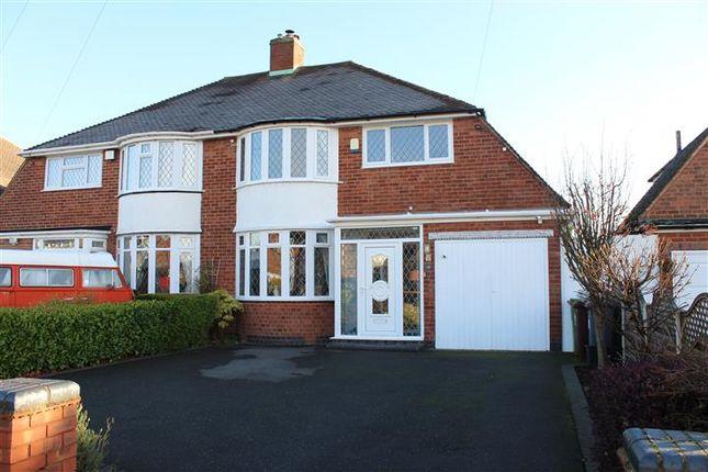 Thumbnail Semi-detached house for sale in Windleaves Road, Castle Bromwich, Birmingham