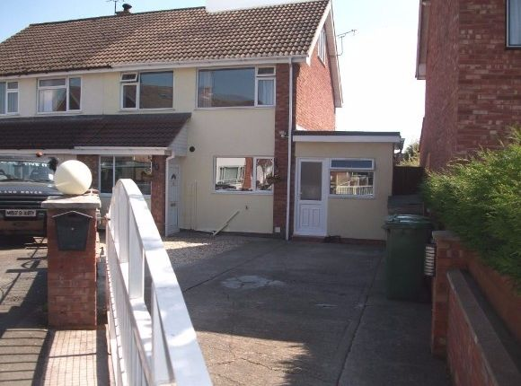 Thumbnail Semi-detached house to rent in Holmer Manor Close, Holmer, Hereford