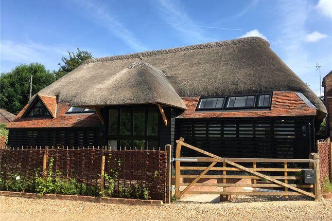 Thumbnail Detached house to rent in Milkingpen Lane, Old Basing, Basingstoke, Hampshire