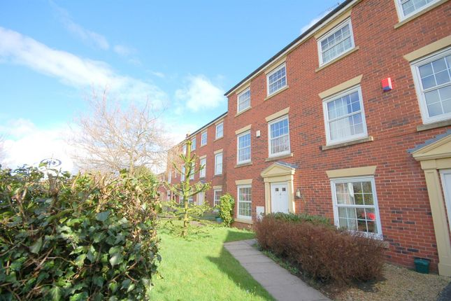 Thumbnail Town house for sale in Carter Close, Nantwich