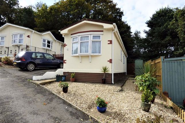 Thumbnail Mobile/park home for sale in Folly Lane, Uphill, Weston-Super-Mare