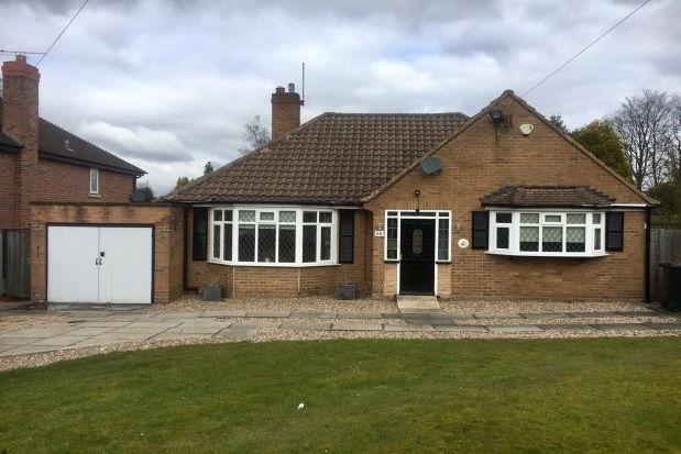 Thumbnail Bungalow to rent in Foley Road East, Sutton Coldfield