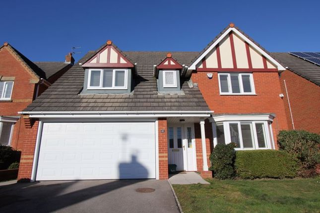 4 bed detached house for sale in Maes Y Gwenyn, Rhoose, Barry CF62