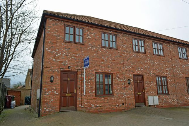 Thumbnail End terrace house for sale in Chancery Lane, Crowle, Scunthorpe