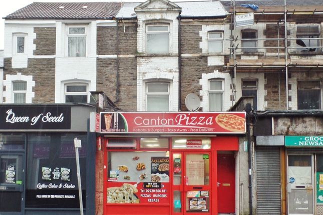 Thumbnail Restaurant/cafe for sale in Cowbridge Road East, Canton, Cardiff