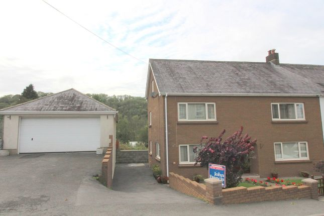 Thumbnail Semi-detached house for sale in Pencader, Carmarthenshire