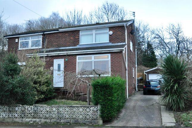 Thumbnail Semi-detached house for sale in Sandringham Avenue, Heyrod, Stalybridge